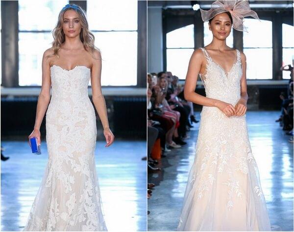 невеста макияж 2019