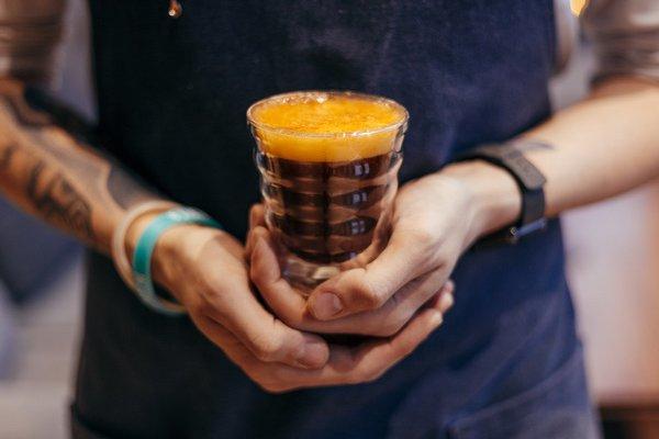 Романтичный напиток к «кофейно-букетному периоду» от Даблби