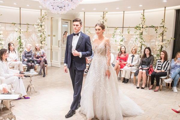 Транк шоу свадебных коллекций бренда Zuhair Murad в пространстве Wedding by Mercury