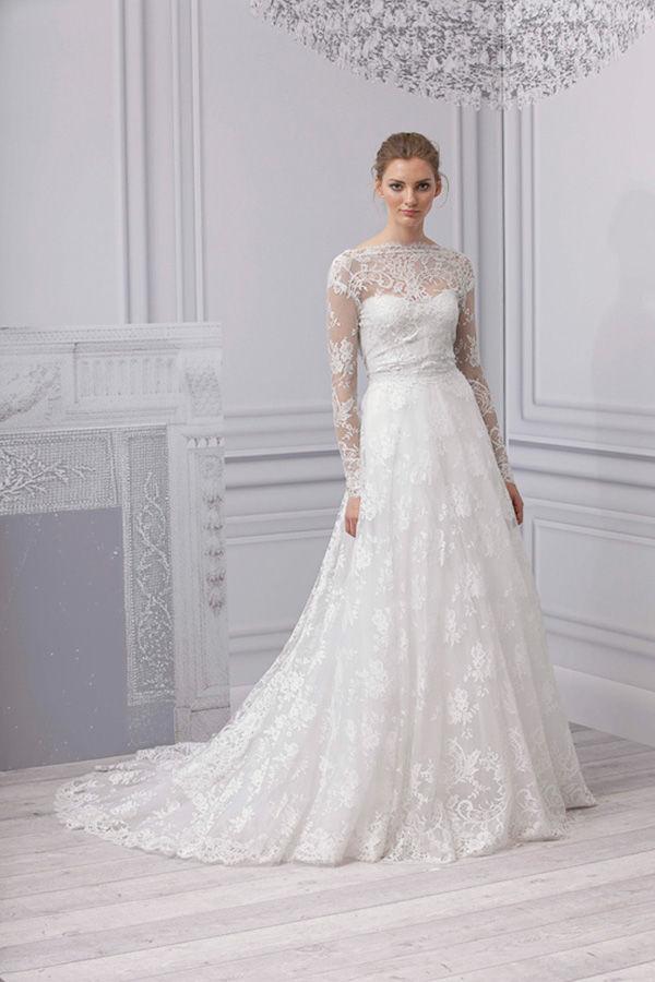 Кружевные свадебные платья от monique