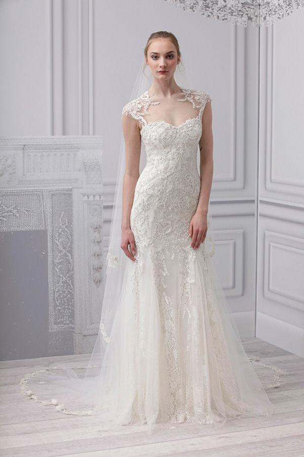 Свадебные платья с кружевной отделкой