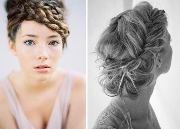 Свадебная причёска коса для невесты