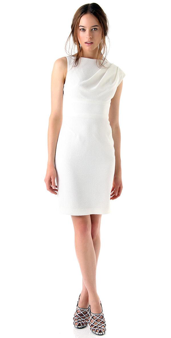 Платье невесты не свадебное, но белое
