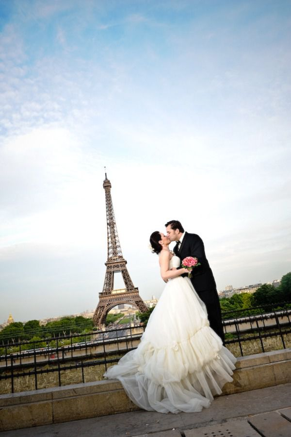 Свадьба в Париже: фото и видео процесса, сценарий 528