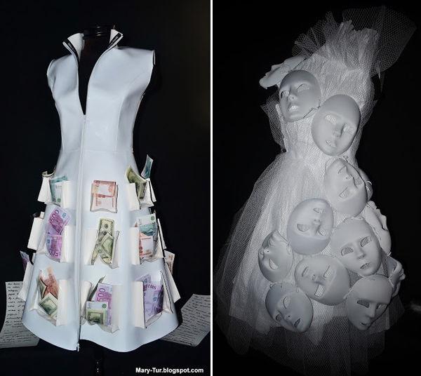 Креативные свадебные платья от Сабины Горелик