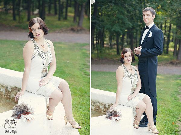 невеста в стиле ретро