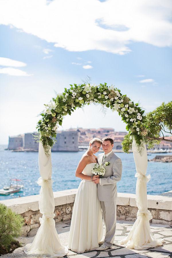 Свадьба в хорватии ольга и александр