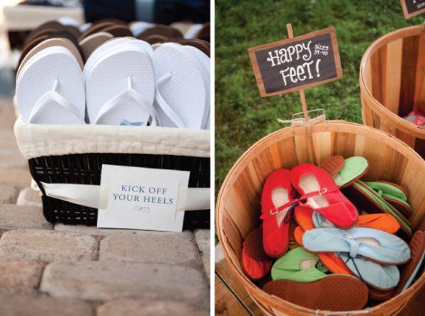Тапочки для свадьбы