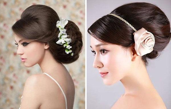 Прически на свадьбу на маленькие волосы