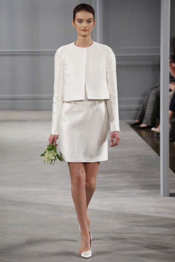 Свадебные платья Monique Lhuillier 2014 - Hibride.ru