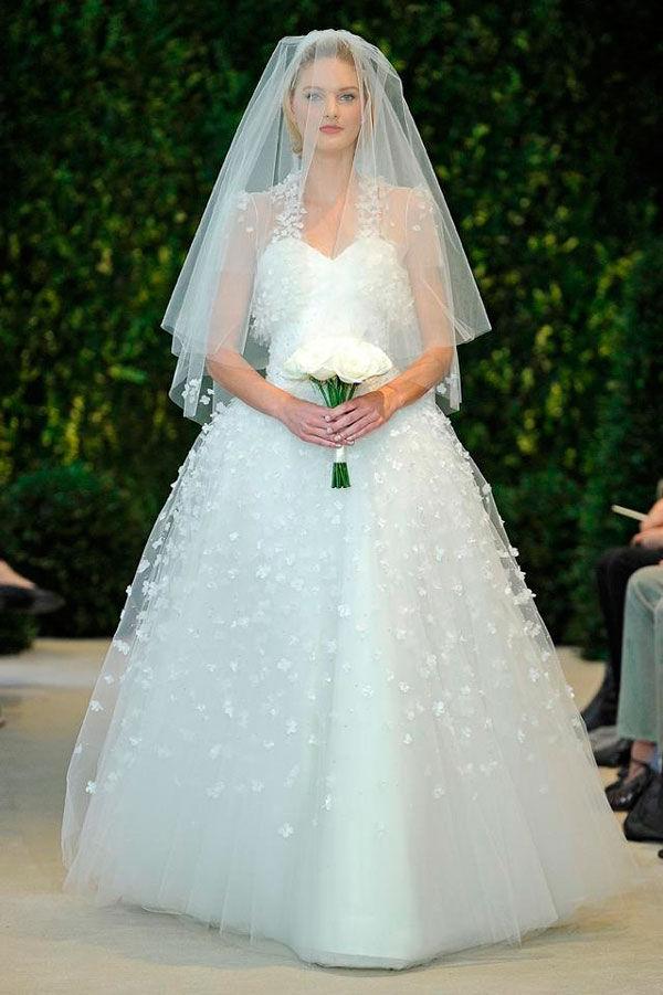 Carolina herrera — свадебные платья 2014
