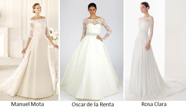 Изобр по > Скромное Свадебное Платье с Рукавами