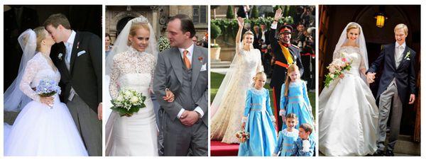 классические свадебные платья фото
