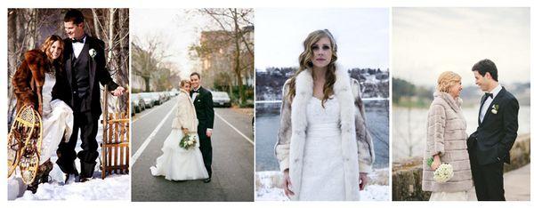 Что надеть на свадьбу зимой