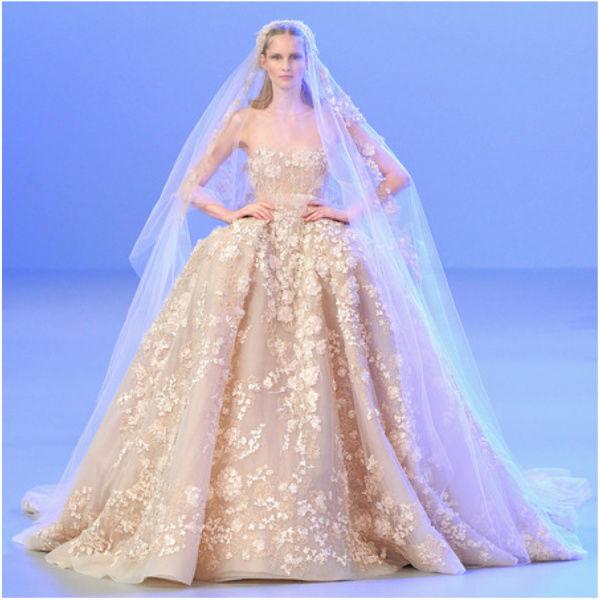 Elie Saab платье принцессы