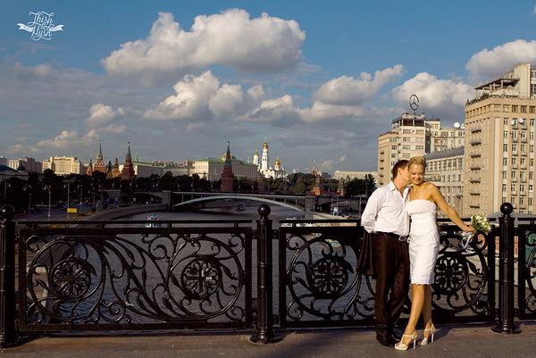 свадебная фотосессия в москве места
