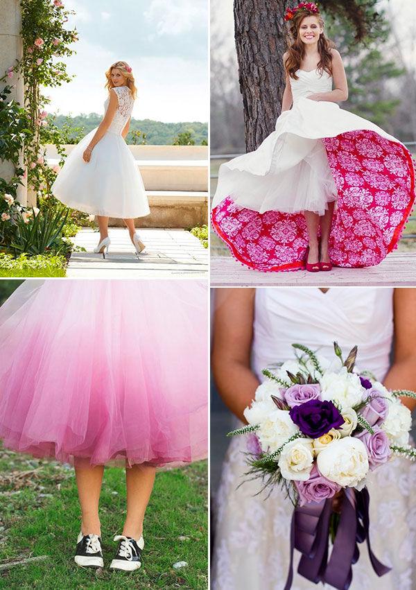 невеста весной