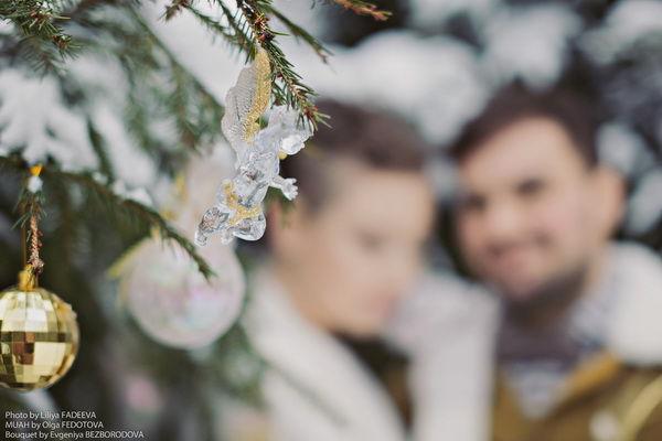 зимние фотосессии пар