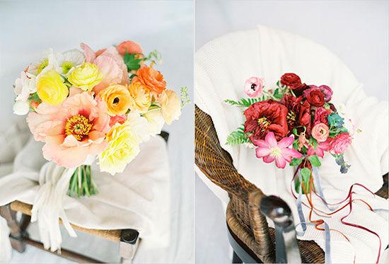 полевой букет невесты