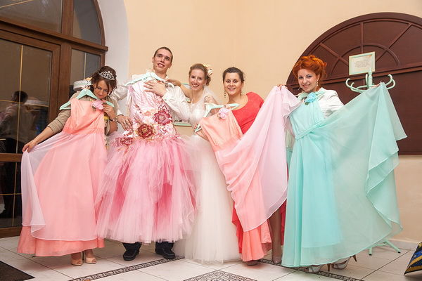 Театральное поздравления на свадьбу 980
