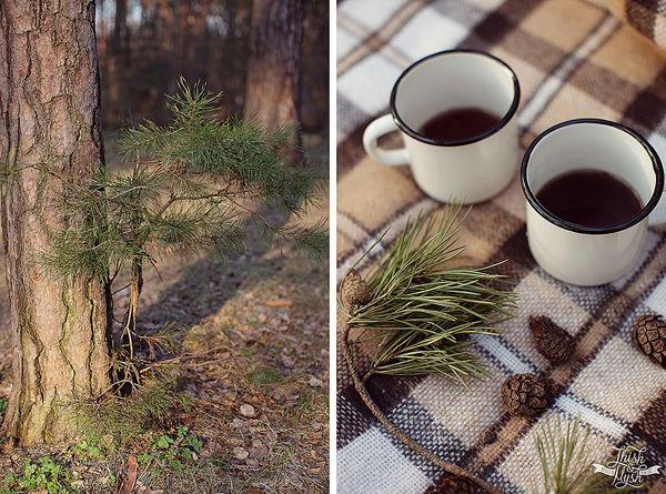 фотосессия в лесу для двоих